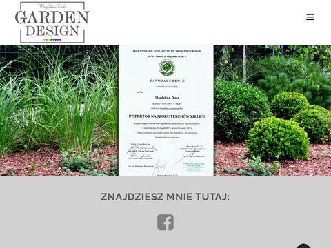 Duda-gardendesign.pl projektowanie ogrodów Wałcz