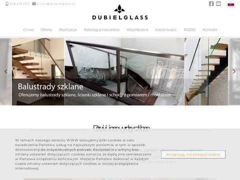 Dubiel Glass barierki szklane