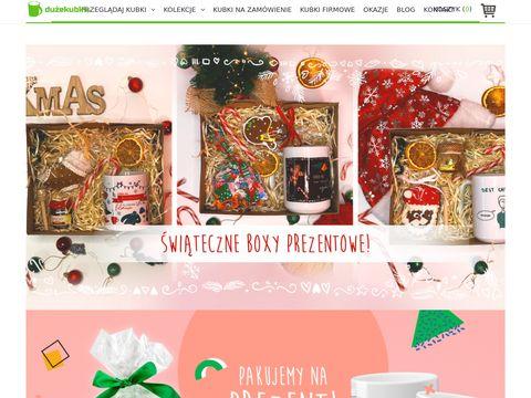Duzekubki.pl z własnym nadrukiem