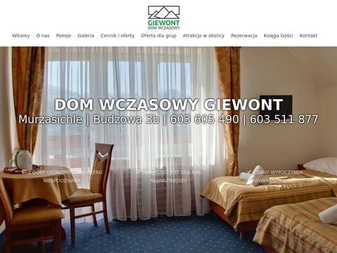 Giewont-zakopane.pl - hotel w Zakopanem