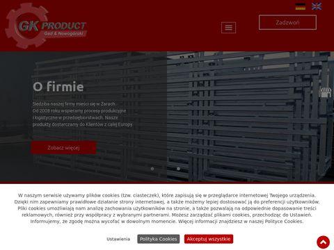 Gk-Product s.c. Żary stojak transportowy