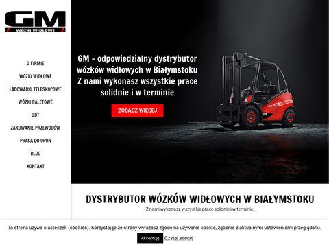 Gmwozkiwidlowe.pl paletowe Białystok