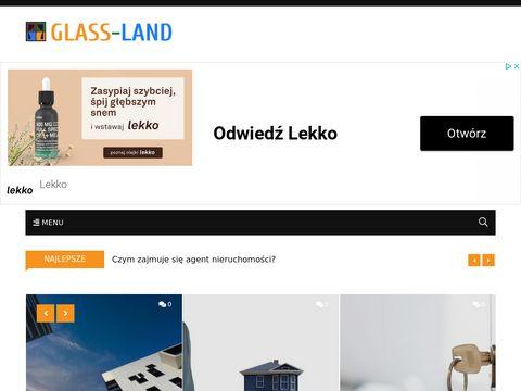 Usługi szklarskie firmy Glassland z Poznania