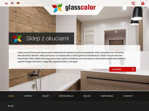 Glasscolor.pl lustra na wymiar Warszawa