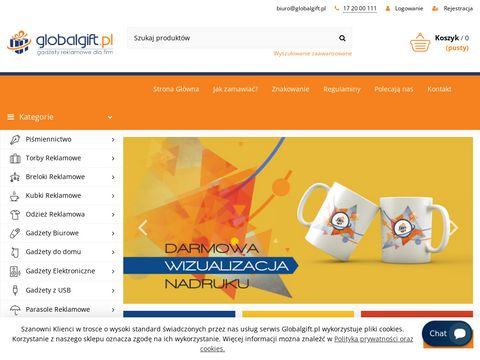 Globalgift.pl sklep z gadżetami reklamowymi