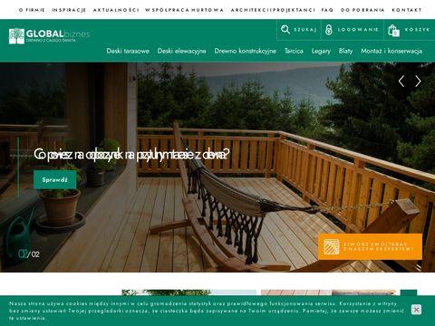 Global Biznes deska tarasowa Kraków