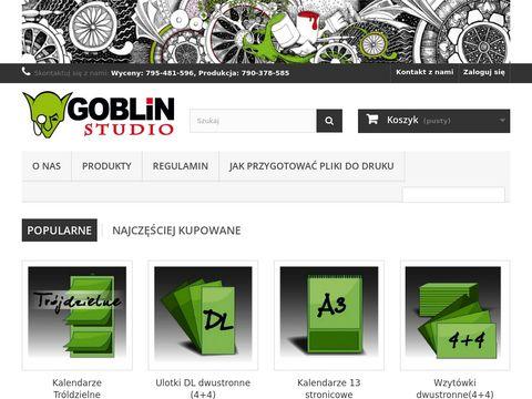 Goblin-studio.pl druk cyfrowy