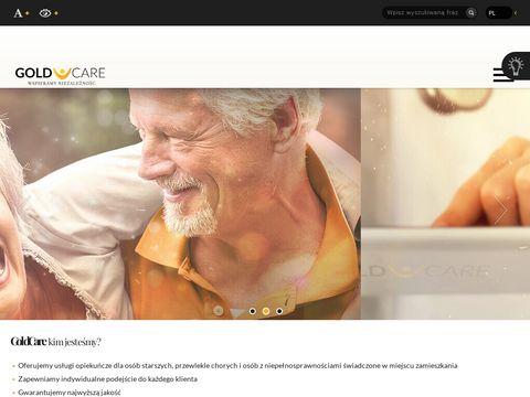 GoldCare - usługi opiekuńcze