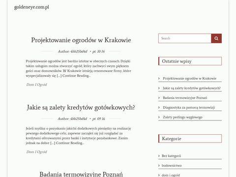 Goldeneye.com.pl wizażystka Łódź