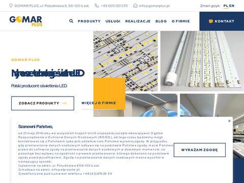 Gomarplus.pl biurowe LED