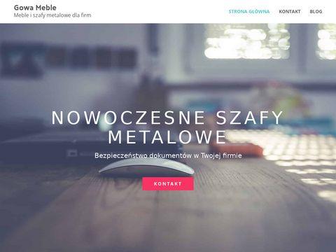 Gowa-Meble Golonko K. komody Warszawa