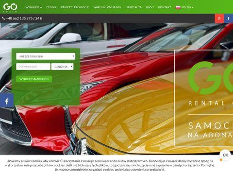 Gorentalcars.pl tania wypożyczalnia samochodów