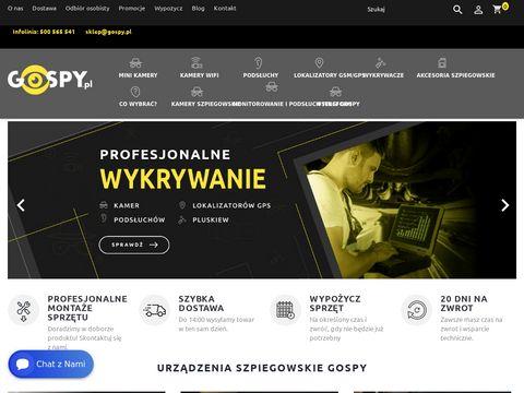 Gospy.pl - sklep detektywistyczny