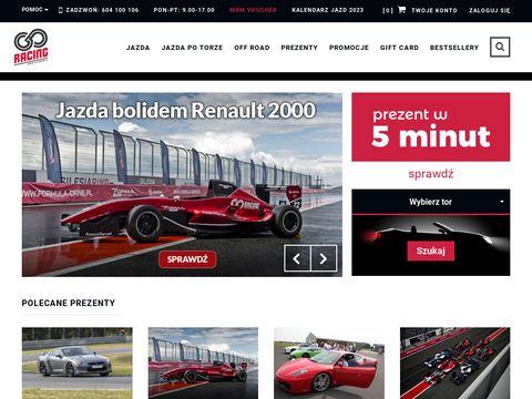 Go-Racing - prezent jazda super samochodami