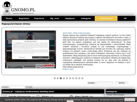 Gnomo.pl pełna moderacja katalog