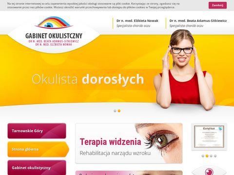 Gabinety-okulistyczne.pl Tarnowskie Góry