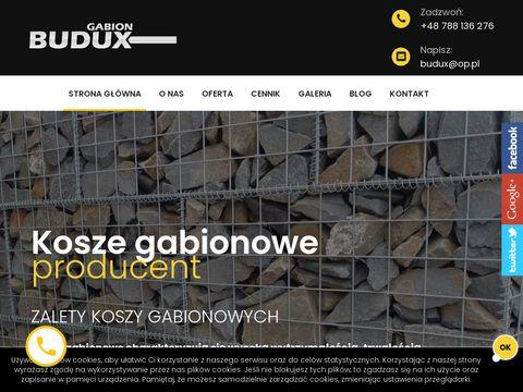 Gabionbudux.pl producent ogrodzeń
