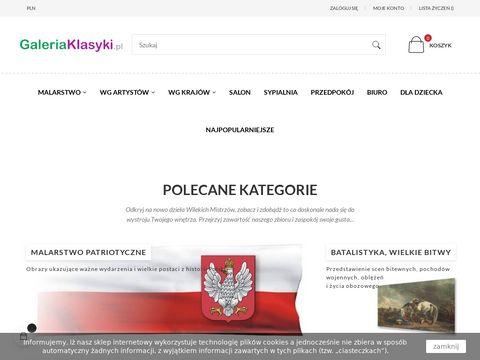 Galeria Klasyki - obrazy wielkich mistrzów