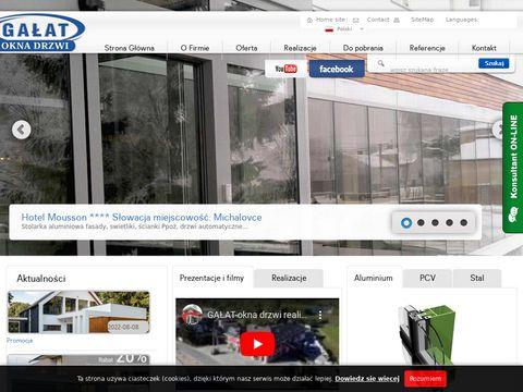 Gałat okna aluminiowe małopolskie