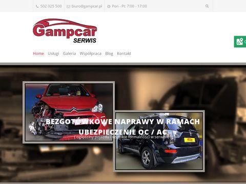 Gampcar.pl naprawy powypadkowe Kraków