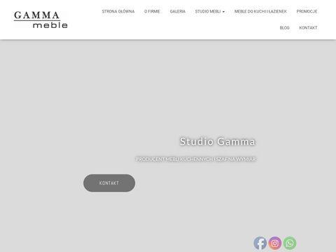 Gamma meble na zamówienie Gdańsk