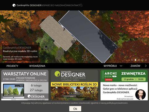Gardenphilia Designer wirtualny ogród