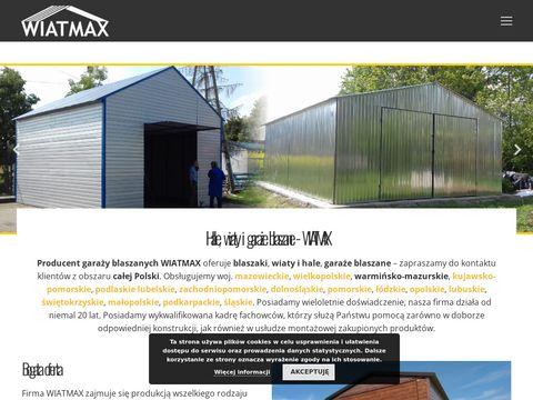 Garazewiatmax.pl blaszane - wiaty i hale