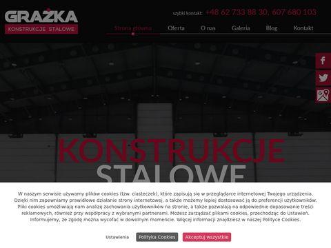Grażka konstrukcje stalowe Ostrów Wielkopolski