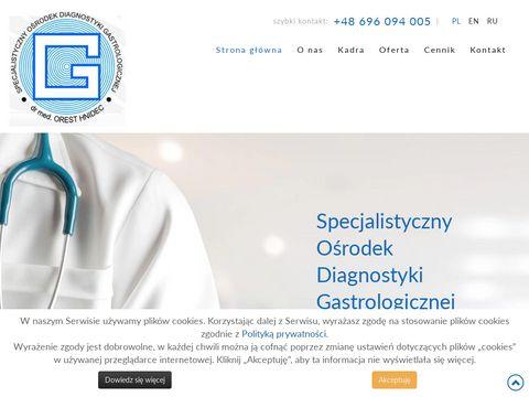 Specjalistyczny Ośrodek Diagnostyki Gastrologicznej