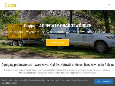 Gappa.com.pl agregaty prądotwórcze