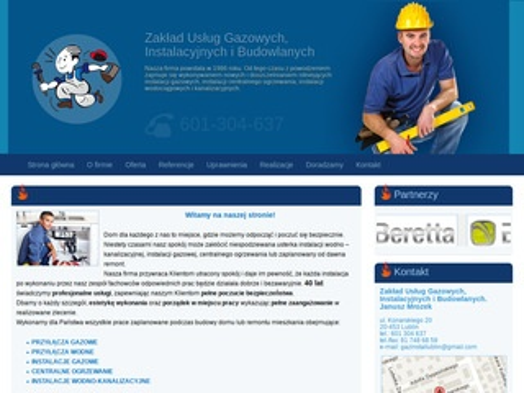 Gazinstal.net centralne odkurzanie