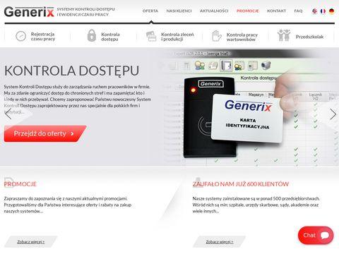 Generix.com.pl - ewidencja czasu pracy