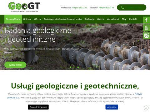 Geogt.pl - badania gruntu