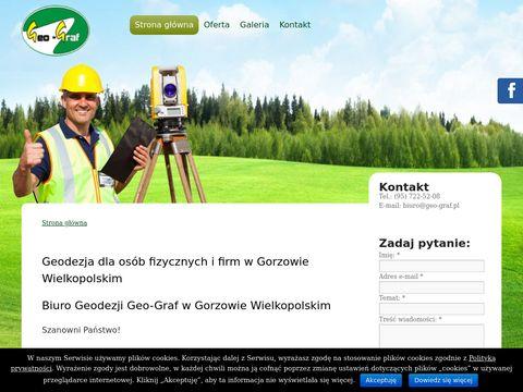 Geo-Graf Biuro Geodezji geodeta Gorzów Wlkp