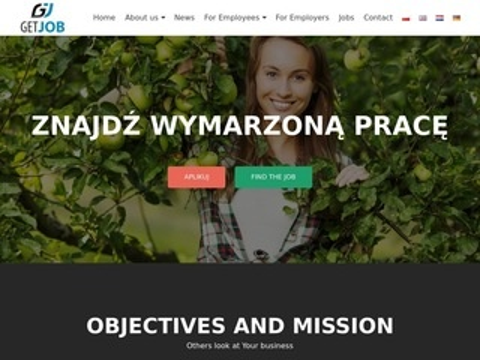 Getjob.com.pl agencja pośrednictwa pracy