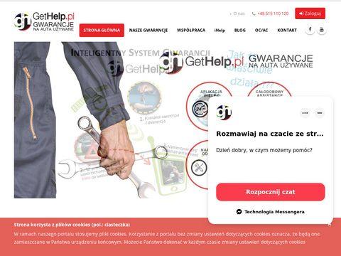 Gethelp.pl - samochody używane z gwarancją