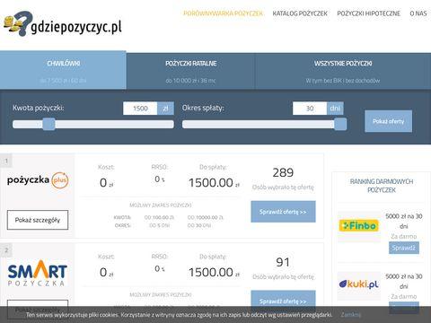 Gdziepozyczki.pl