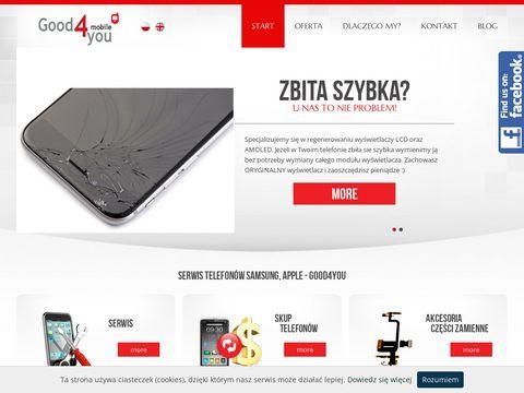 Gsmkrakow.pl wymiana wyświetlacza iphone Kraków