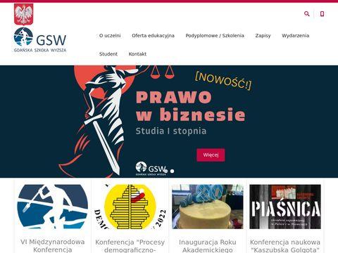 GSW studia Gdańsk