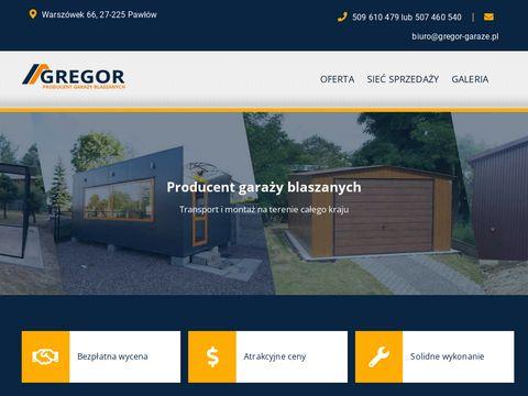 Gregor-garaze.pl kontenery biurowe