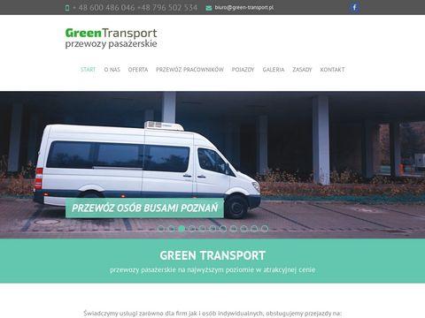 Green-transport.pl bus poznań, przewozy pasażerskie