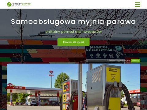 GreenSteam – Wyłączny importer myjni parowych Optima w Polsce
