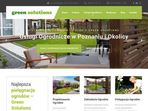 Green Solutions - zakładanie ogrodów Poznań