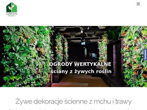 Greenproject.com.pl aranżacje wnętrz