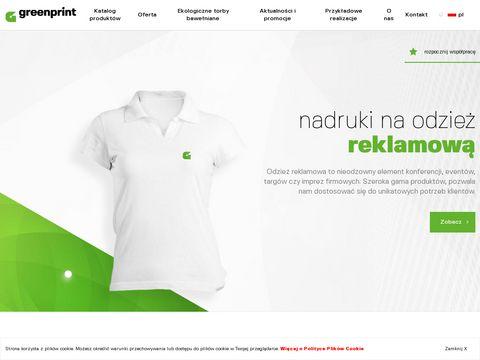 Greenprint - torby bawełniane
