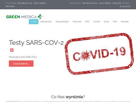 Greenmedica.com.pl - prywatna przychodnia