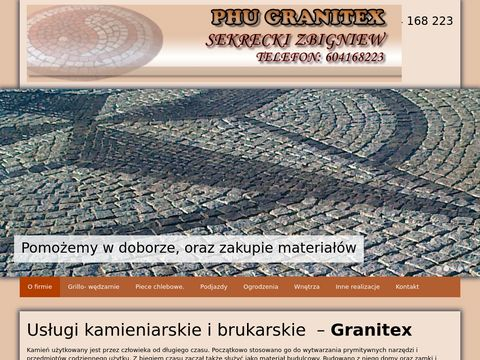 Granitex Koszalin brukarstwo