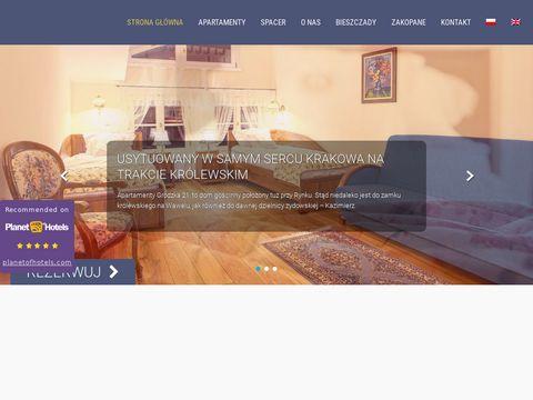 Grodzka21.pl - apartamenty stare miasto Kraków