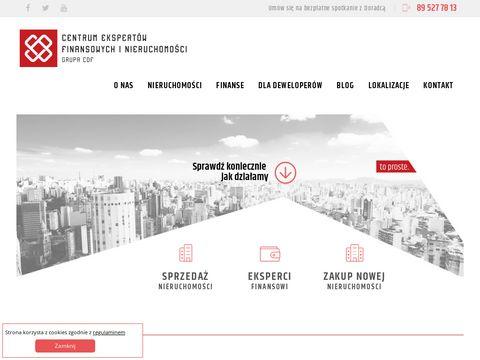 Grupa CDF nieruchomości Olsztyn