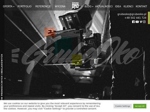 Grubeoko.pl produkcja filmów korporacyjnych